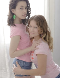 Horny teen girls get naughty together but let a third one join in the party so they can fully embrace their desires.