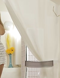 Exotic babe Ebbi gets down and dirty when she spends an..